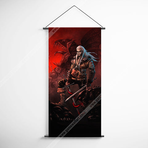 The Witcher 58 Decorative Banner Flag for Gamers