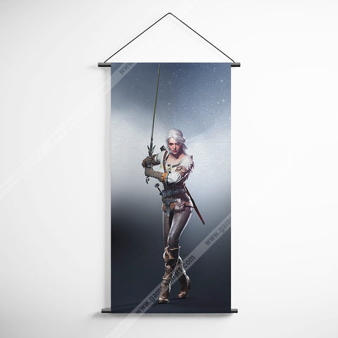 The Witcher 59 Decorative Banner Flag for Gamers