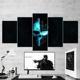 Tom Clancy's 04 Ghost Recon Future Soldier 5 Piece Canvas Wall Art Gaming Canvas