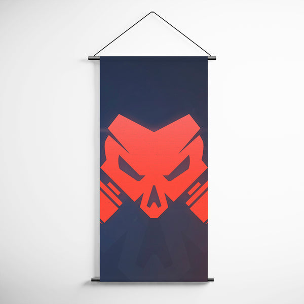 Tom Clancy's 06 Rainbow Six Siege Operation- Chimera Logo Minimalist Decorative Banner Flag for Gamers