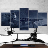 Tom Clancy's Rainbow Six Siege Sniper 12 - 5 Piece Canvas Wall Art Gaming Canvas