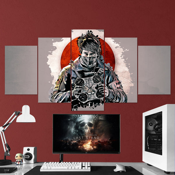 Tom Clancy's Rainbow Six Siege Echo 16 - 5 Piece Canvas Wall Art Gaming Canvas