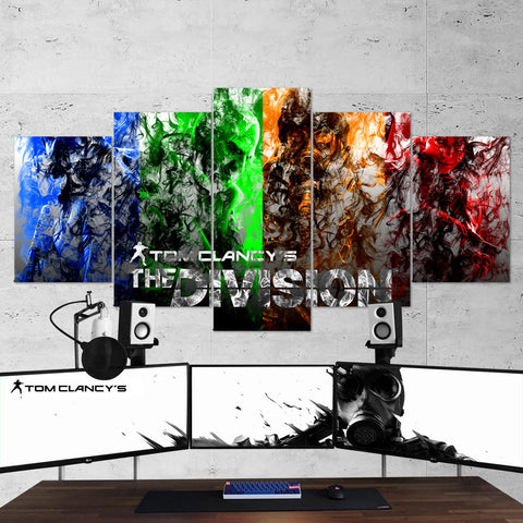 Tom Clancy's Rainbow Six Siege 21 - 5 Piece Canvas Wall Art Gaming Canvas