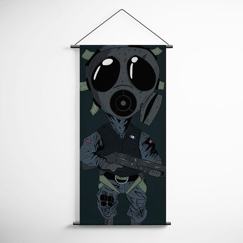 Tom Clancy's 24 Thatcher Rainbow Six Siege Decorative Banner Flag for Gamers