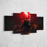 Tom Clancy's The Division 29 - 5 Piece Canvas Wall Art Gaming Canvas