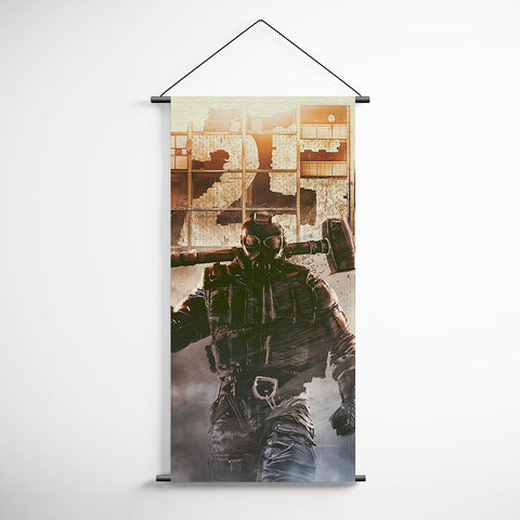 Tom Clancy's 49 Rainbow Six Siege Sledge Decorative Banner Flag for Gamers