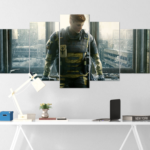 Tom Clancy's Canvas Wall Art 085 - Finka 5 Piece Canvas Wall Art - The Division Canvas - Ghost Recon Canvas - Rainbow Six Siege Canvas