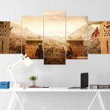 Tom Clancy's Canvas Wall Art 089 - Kaid & Nomad 5 Piece Canvas Wall Art - The Division Canvas - Ghost Recon Canvas - Rainbow Six Siege Canvas