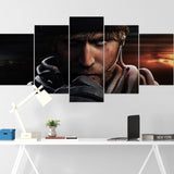 Tom Clancy's Canvas Wall Art 094 - Maverick 5 Piece Canvas Wall Art - The Division Canvas - Ghost Recon Canvas - Rainbow Six Siege Canvas