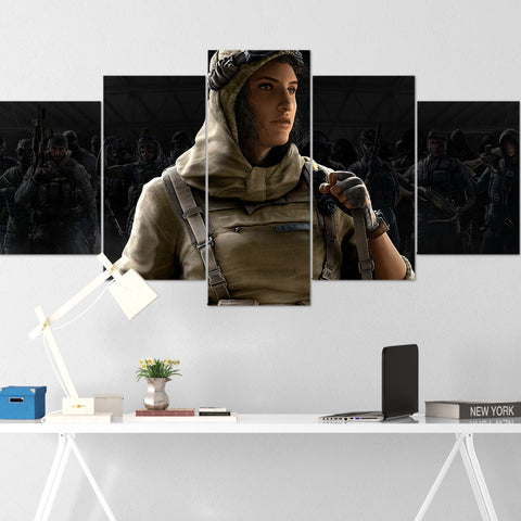 Tom Clancy's Canvas Wall Art 096 - Nomad 5 Piece Canvas Wall Art - The Division Canvas - Ghost Recon Canvas - Rainbow Six Siege Canvas