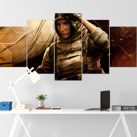 Tom Clancy's Canvas Wall Art 097 - Nomad 5 Piece Canvas Wall Art - The Division Canvas - Ghost Recon Canvas - Rainbow Six Siege Canvas