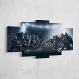 Tom Clancy's Canvas Wall Art 104 - Shooter 5 Piece Canvas Wall Art - The Division Canvas - Ghost Recon Canvas - Rainbow Six Siege Canvas