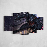Venom 13 - 5 Piece Canvas Wall Art Gaming Room Canvas