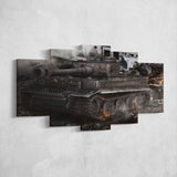 World of Tanks 04 - 5 Piece Canvas Wall Art Gaming Canvas