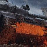 World of Tanks 25 Centurion Action X 5 Piece Canvas Wall Art Gaming Canvas