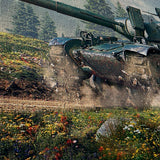 World of Tanks 26 AMX 30 B 5 Piece Canvas Wall Art Gaming Canvas