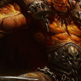 WOW - World of Warcraft 02 Orgrim Doomhammer 5 Piece Canvas Wall Art Gaming Canvas