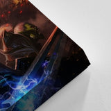 WOW - World of Warcraft 05 - 5 Piece Canvas Wall Art Gaming Canvas