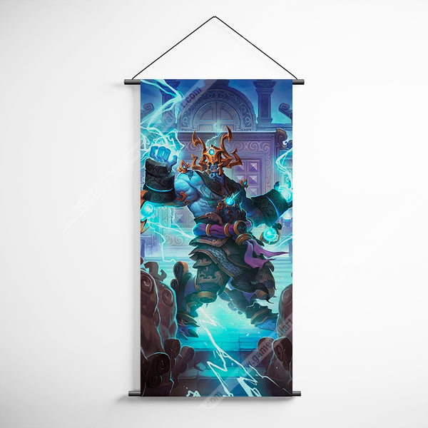 WOW - World of Warcraft 19 Thunder King Decorative Banner Flag for Gamers
