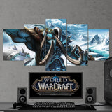 WOW - World of Warcraft 31 - 5 Piece Canvas Wall Art Gaming Canvas
