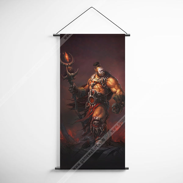 WOW - World of Warcraft 54 Ner'zhul Orc Prophet Decorative Banner Flag for Gamers