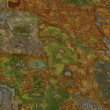 WOW - World of Warcraft 64 Azeroth Map 5 Piece Canvas Wall Art Gaming Canvas
