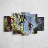 Anthem Exosuits Colossus Interceptor Javelin Storm - Anthem Canvas