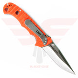 Hammond Cruiser Orange Zytel Handle and 8Cr14MoV Blade Steel - Back
