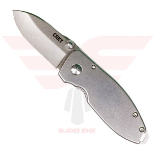 CRKT Squid with Stainless Steel Handle and 8Cr13MoV Stonewash Blade