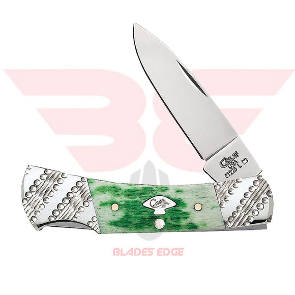 Case-Lockback-Emerald Green Bone-53252