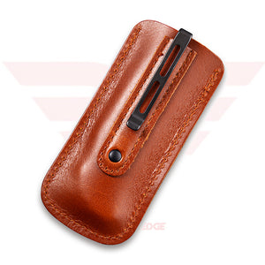 Civivi Knife Co. leather sheath for the Rustic Gent C904 models.