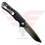 Kizer Dukes-Black G10 Handle with VG10 Blade Back