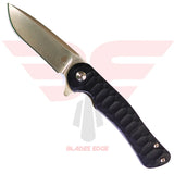 Kizer Dukes-Black G10 Handle with VG10 Blade Front