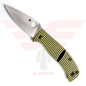 SPYDERCO-CARIBBEAN-COMPRESSION LOCK-KNIFE