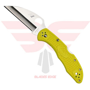 Spyderco Salt 2 with Fiberglass Reinforced Nylon handle scales and wharncliffe style H1 Steel Blade.