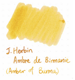 J. Herbin 10ml Ink Bottle - Amber de Birmanie (Amber of Burma)