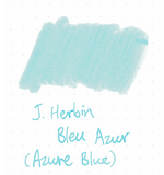 J. Herbin 10ml Ink Bottle - Bleu Azur (Azure Blue)