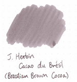 J. Herbin 10ml Ink Bottle - Cacao du Bresil (Brazillian Brown Cocoa)
