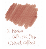 J. Herbin 10ml Ink Bottle - Café des Iles (Island Coffee)