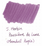 J. Herbin 10ml Ink Bottle - Poussiere de Lune (Moondust Purple)