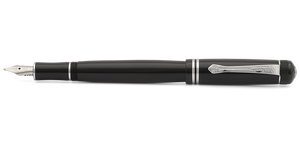 Kaweco DIA2 Fountain Pen - Black with Chrome Accents