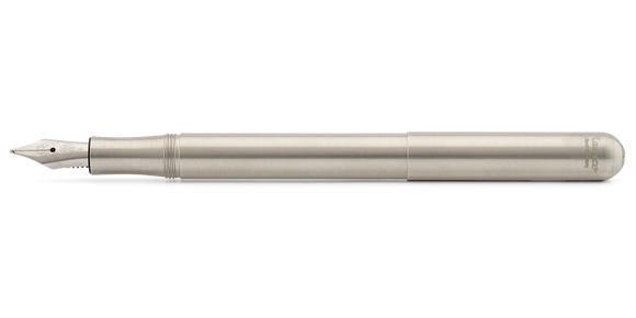 Kaweco Liliput Fountain Pen - Stainless Steel Barrel