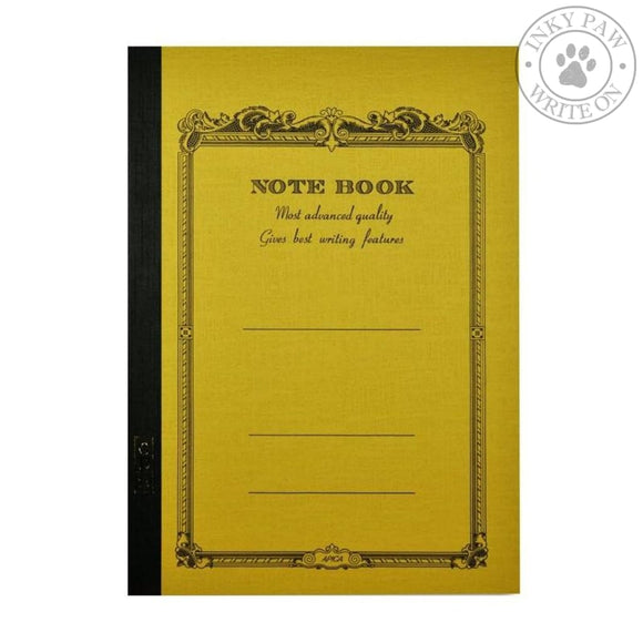 Apica Cd-15 Notebook B5 - Mustard Ruled Paper