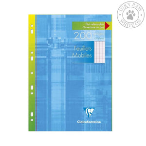 Clairefontaine 100-Sheet Loose Leaf For Binders - Seyes Ruled Paper