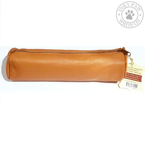 Clairefontaine Age Bag Round Sheepskin Pen Case - Tan Accessories
