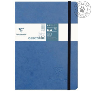 Clairefontaine My Essential Age Bag Notebook - Blue Cover