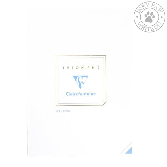 Clairefontaine Triomphe Writing Pad - A5 Plain Paper