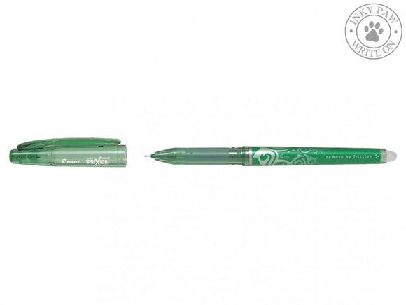 FriXion Point 0.5mm Erasable Gel Pen - Green Ink