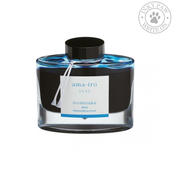 Iroshizuku 50Ml Ink Bottle - Ama-Iro (Sky Blue) Inks