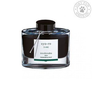 Iroshizuku 50Ml Ink Bottle - Syo-Ro (Dew On Pine Tree) Inks